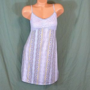 DKNY Chemise Size Large Nightgown Slip Dress Stret